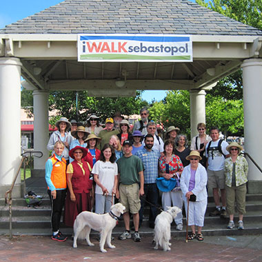 Sebastopol iWalk - Photo by Sarah Gurney