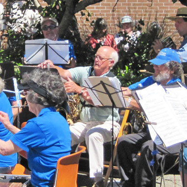 Concert at Sebastopol City Hall